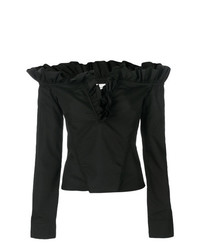 MARQUES ALMEIDA Marquesalmeida Off The Shoulder Ruffle Blouse