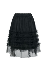 P.A.R.O.S.H. High Waisted Ruffle Skirt