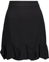 Stella McCartney Irina Ruffled Crepe Mini Skirt