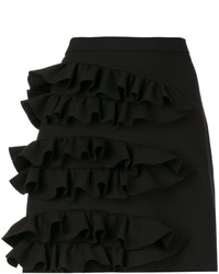 MSGM Ruffled Detail Mini Skirt