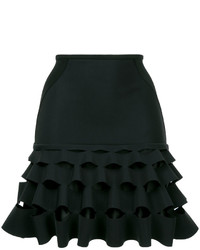 Dion Lee Slash Ruffle Mini Skirt