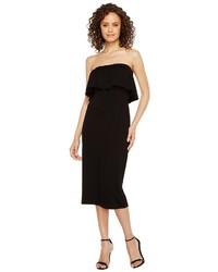 Vince Camuto Ruffle Off Shoulder Midi Dress Dress