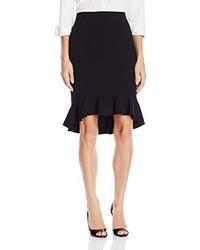 Nine West Flounce Hem Suit Skirt