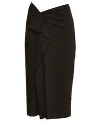 Isabel Marant Quantin Ruffle Trimmed Midi Skirt