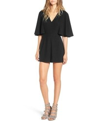 Leith Cape Sleeve Romper