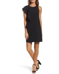 Asymmetrical ruffle shift dress medium 5255471