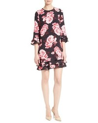 New york rosa ruffle shift dress medium 1249577