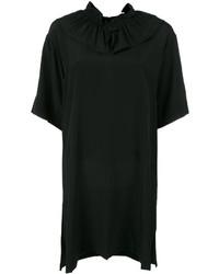 Marni Ruffle Collar Shift Dress