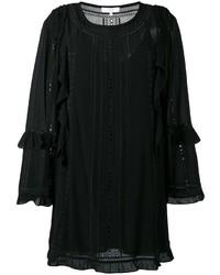 IRO Ruffled Detail Shift Dress