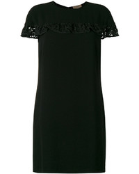 Burberry Ruffled Detail Shift Dress