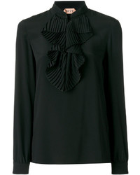 No.21 No21 Ruffle Detail Blouse
