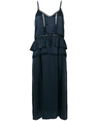 IRO Ruffle Midi Dress
