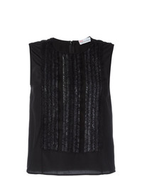 RED Valentino Ruffled Panel Tank