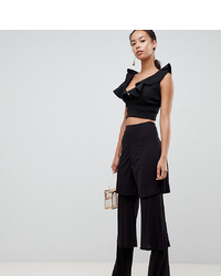Asos Tall Asos Design Tall Tiered Ruffle Trousers
