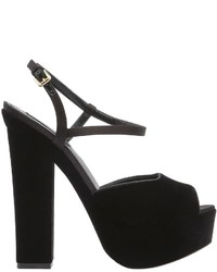 Dsquared2 150mm Velvet Platform Sandals