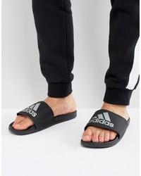 adidas Adilette Cf Sliders In Black S79352