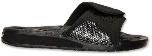 53ee95d61c24 ... Black Sandals Nike Boys Grade School Jordan Hydro 4 Slide Sandals ...