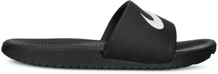 1b183a715f78 Nike Boys Kawa Slide Sandals From Finish Line