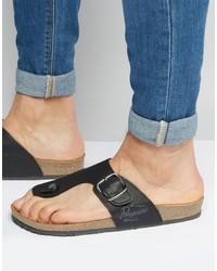 Original Penguin Buckle Sandals