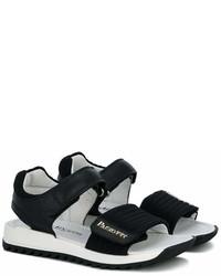 Cesare Paciotti Kids Ridged Velcro Sandals