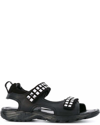 Cesare Paciotti Kids Teen Studded Sandals