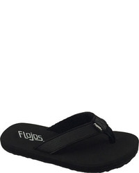Flojos Childrens Brody Flip Flop Pink Thong Sandals