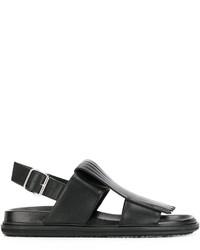 Marni Fringe Front Sandals