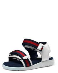 Gucci Gauffrette Web Strap Sandal Toddler