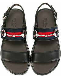 Gucci Kids Buckled Sandals