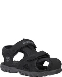 Timberland Infantstoddlers Splashtown Closed Toe Sandal Black Synthetic Two Straps