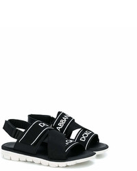 Dolce & Gabbana Kids Branded Sandals