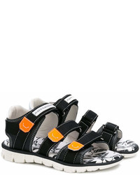 John Galliano Kids Touch Strap Sandals