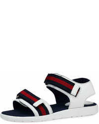 Gucci Leather Grip Strap Sandal Toddleryouth Sizes 10t 2y