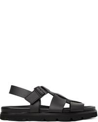 Lanvin Matte Leather Sandals