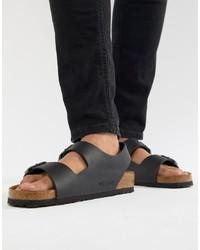 79d24e8c2 Birkenstock D T Bar Sandals  46 · Birkenstock Milano Birko Flor Sandals In  Black