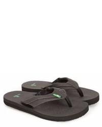 Sanuk Rootbeer Cozy Lightweight Flip Flop Sandal