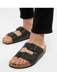 ASOS DESIGN Sandals In Black With