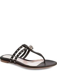 Alexander McQueen T Strap Sandal