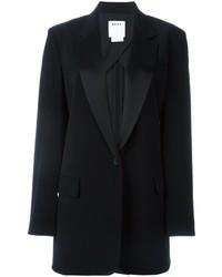 DKNY Long Tuxedo Blazer