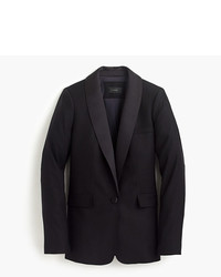 J.Crew Tuxedo Blazer With Italian Satin Lapel