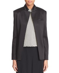 Alexander Wang T By Stretch Satin Open Blazer