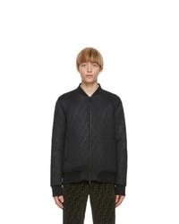 Fendi Black Bomber Jacket