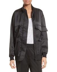 Satin bomber jacket medium 3686381