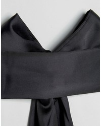 Designb London Satin Bow Choker