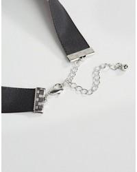 Asos Satin Choker Necklace