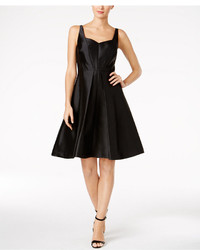 Calvin Klein Satin Fit Flare Dress
