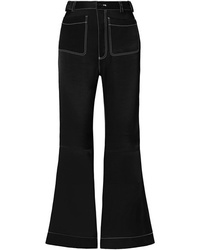 See by Chloe Satin Twill Flared Pants