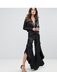Lioness Trouser With Ruffle Side Detail