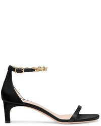 Calvin Klein Collection Satin Faceted Chain Sandal