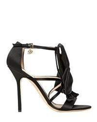 Dsquared2 120mm satin bow sandals medium 79465
